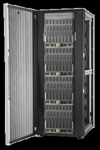 Exemplo de um rack de 42U