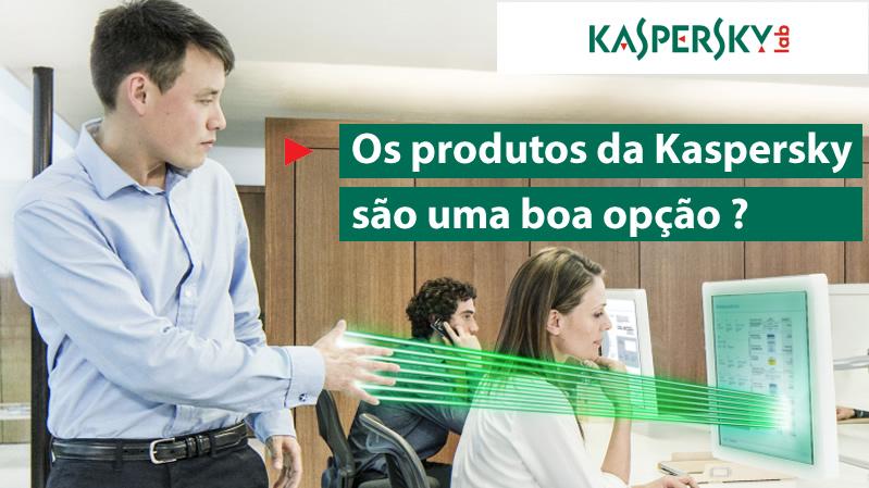 Antivirus para empresas da Kaspersky