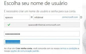 Trial do Office 365 parte 3